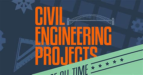 greatest projects  civil engineering infographic