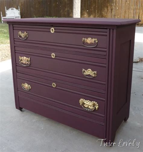 colored dressers plum colored dresser yes to match my