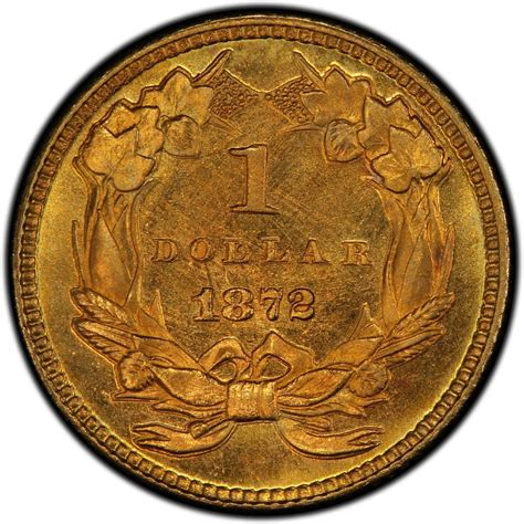 are gold dollars worth anything 1872 large head indian princess gold dollar values and prices past sales coinvalues com
