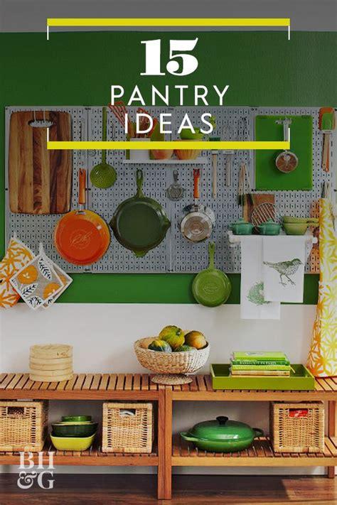 Open pantry via design sponge. Freestanding Pantry Ideas | Pantry redo, Pantry, Pantry design