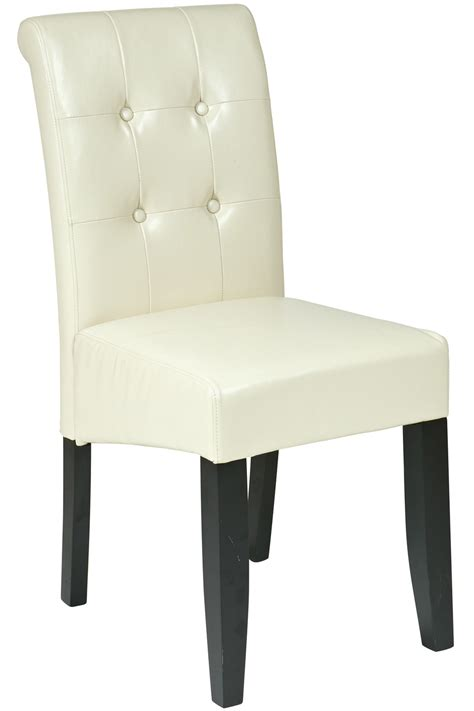 met88cm office tufted parsons dining chair in