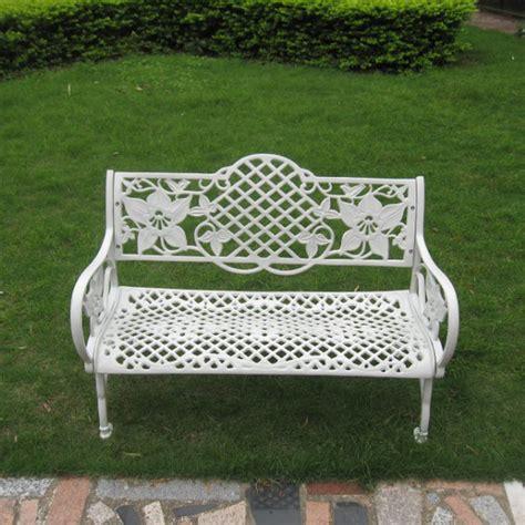 aluminum patio bench patio design ideas