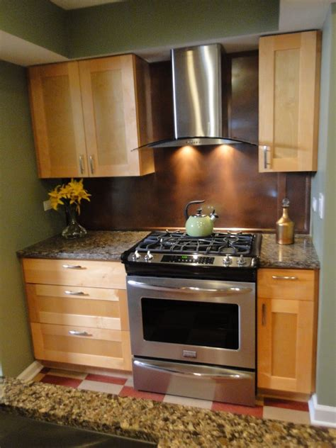 kitchen ideas with stainless steel appliances kitchen maple shaker cabinets with stainless steel