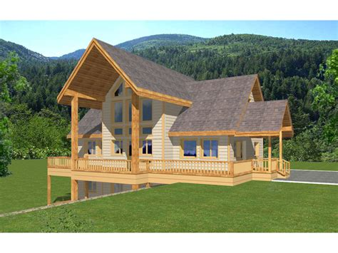 copper mountain frame home plan house plans