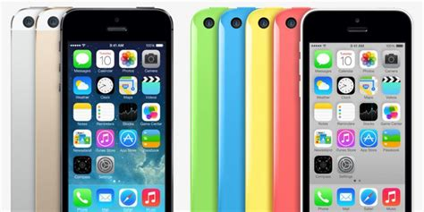 selling iphone 5c started selling the iphone 5s and 5c