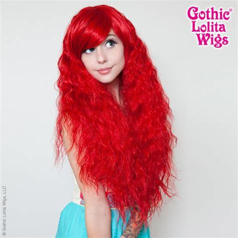 gothic lolita wigs store rhapsody collection red dolluxe