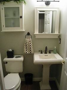 Small Half Bath For the Home Pinterest