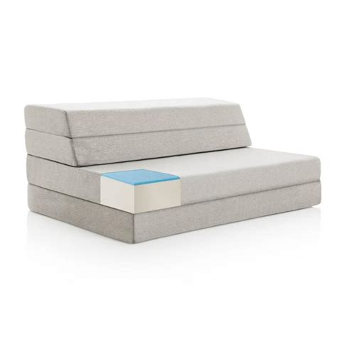 Folding Foam Chair Bed Walmart by 4 Quot Folding Mattress Gel Memory Foam Cooling Layer By