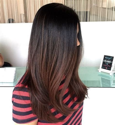 Black And Brown Hair by 40 Ideas For Black Ombre Hair