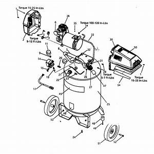 Craftsman Model 919168700 Air Compressor Genuine Parts
