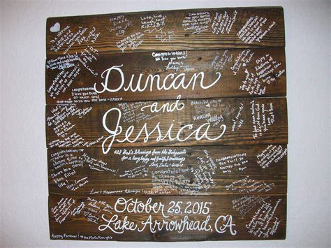 Wedding Guest Board From Pallet Wood ? 1001 Pallets