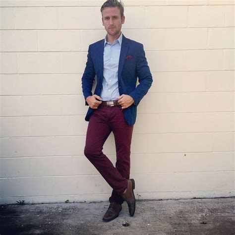 Best 25+ Burgundy pants men ideas on Pinterest | Red pants men Adam menswear and Navy smart day ...