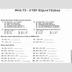 12 2 Practice B Solving Multi Step Equations Answers Tessshebaylo