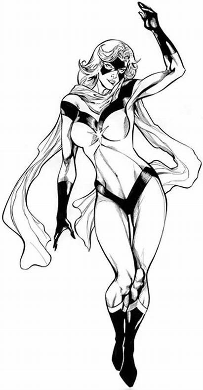 Marvel Ms Miss Danvers Carol Character Comic