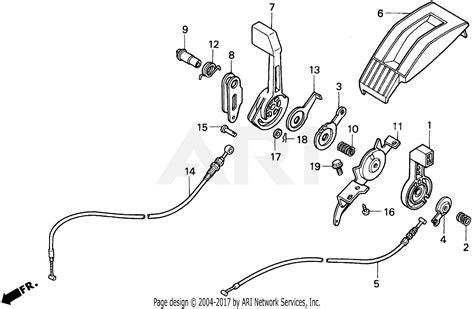 Honda Hrk Hxa Lawn Mower Usa Vin Mzam Parts