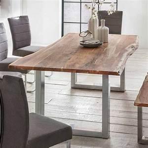 Esstisch Akazie Baumkante : baumkanten esstisch tucano aus akazie massivholz ~ Watch28wear.com Haus und Dekorationen