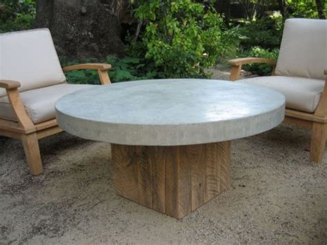 outdoor round wood table tops round concrete top coffee table inspiration for sunroom