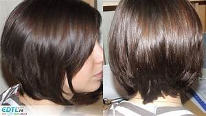 Comment Faire Un Carré Plongeant : carr plongeant brune coupe de cheveux femme ~ Dallasstarsshop.com Idées de Décoration