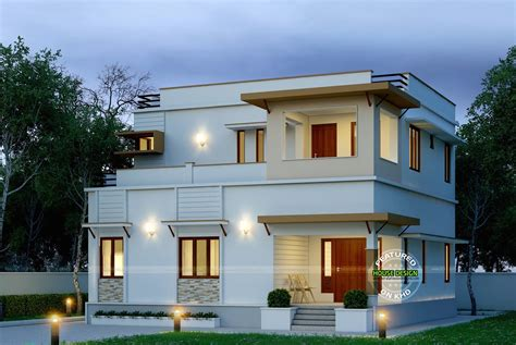 Cute Double Floor Modern Houses  Design Architecture And