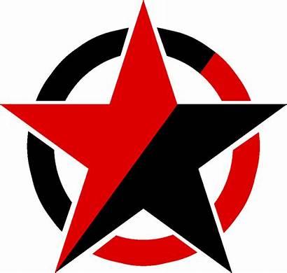 Star Anarchist Symbols Clipart Socialist Strange Anarchy