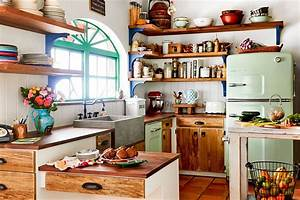 50 trendy eclectic kitchens that serve up personalized style With kitchen colors with white cabinets with tea light holder wall art