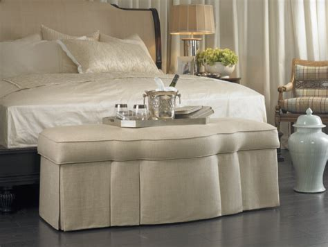 Ottoman In Front Of Bed by Ottomans Everywhere La Maison Interiors Shows You How