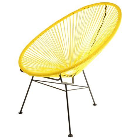 acapulco chaise fauteuil acapulco jaune la chaise longue
