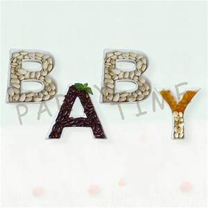 ceramic baby plates party serving dish english alphabet With letter shaped serving dishes