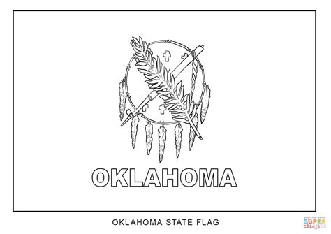 Black And White Outline Of State Ok Pictures To Pin On