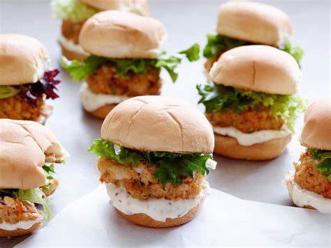 jeffs crab cake sliders  easy party ready entertaining
