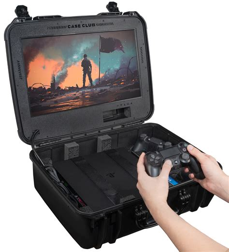 Case Club Waterproof Playstation 4 Portable Gaming Case W