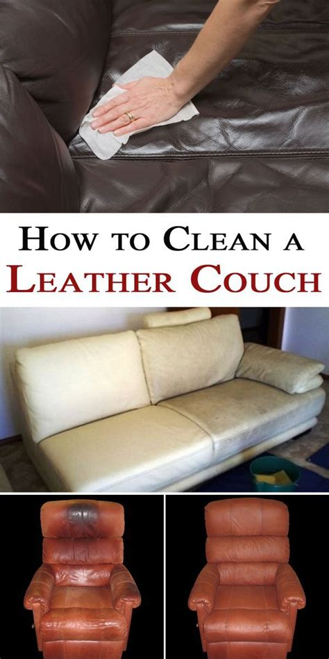 What To Clean Couches With by How To Clean A Leather Leather Couches And