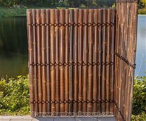 Zaun 150 Cm Hoch : bambus zaun apas schwarz braun g nstig bestellen ~ Whattoseeinmadrid.com Haus und Dekorationen