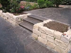 Steine Für Steingarten : die besten 25 steinzaun ideen auf pinterest ~ Lizthompson.info Haus und Dekorationen