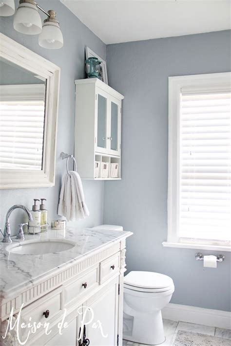 Blue Bathroom Paint Colors by Mt Rainier Gray 2129 60 This Is The Color In And
