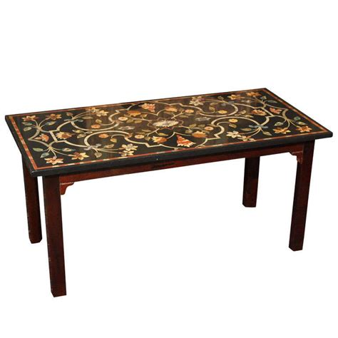 antique marble top coffee table antique italian petra dura style marble top coffee table