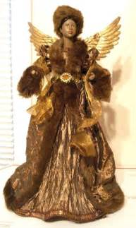 black african american angel tabletop christmas tree topper 17 quot christmas new ebay