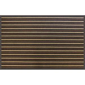 Commercial Doormats by Trafficmaster 36 In X 60 In Brown Stripe Commercial Door