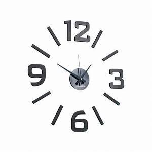 Grande Horloge Murale Design : grande horloge murale design fixer chiffres ind pendants ~ Nature-et-papiers.com Idées de Décoration