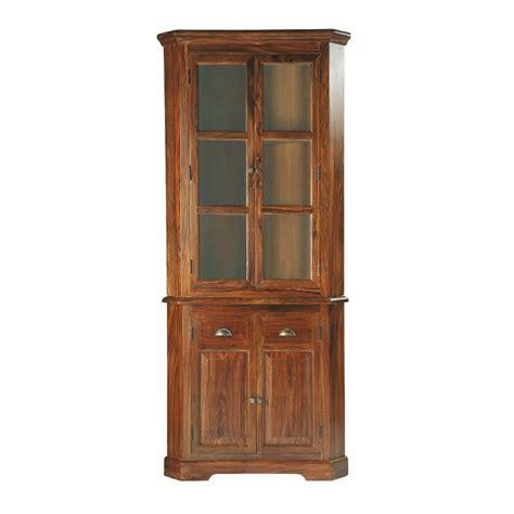 cuisine classique chic meuble d 39 angle en bois de sheesham massif l 90 cm luberon
