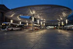 Bus Station Canopy Aarau 5 E Architect