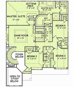 oversized great room plus secret room With hidden passageways floor plan