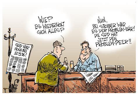 aktuelle karikaturen spd trend