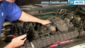 How To Install Replace Ignition Coil Ford Explorer Mercury