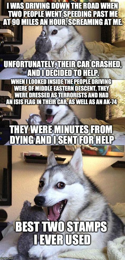 Pun Husky Meme - bad pun dog meme imgflip