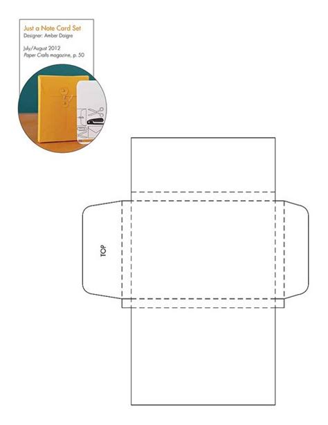 business card box template pdf free note card box pattern template and many more