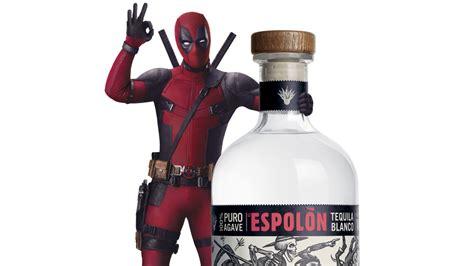 deadpool promotes espolon tequila tweaks ryan reynolds