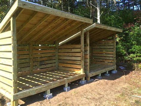Pallet Firewood Shedfirewood Storage Box Australia Ideas