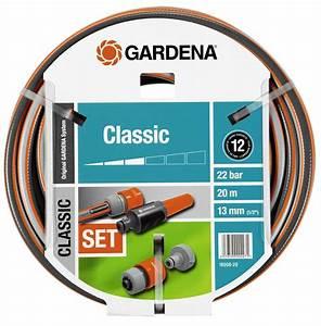 Gardena Schlauch 30m : gardena classic schlauch 13 mm 1 2 20 m mit systemteilen ~ Eleganceandgraceweddings.com Haus und Dekorationen