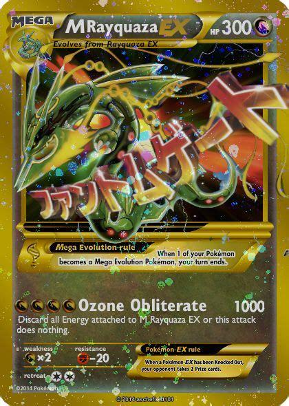 rayquaza  updated  thelugiamaster  deviantart pokemon cards fake pokemon cards